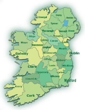 Irland Karte Städte.Radreisen In Irland Bequem Online Buchen Irland Reise Net